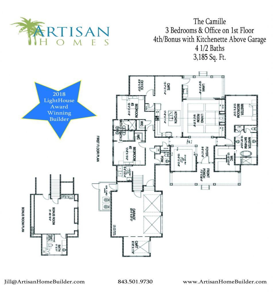 600 Colonial Sales Sheet_Floor Plan