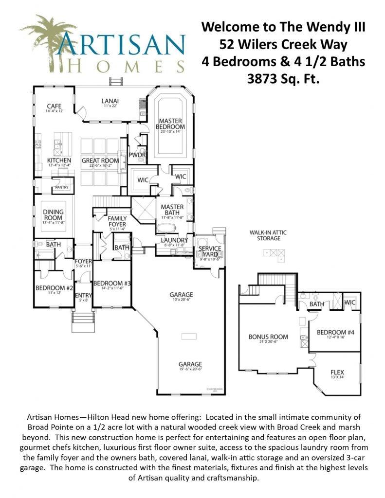 IR 37 (52 Wilers Creek Way) Floorplan