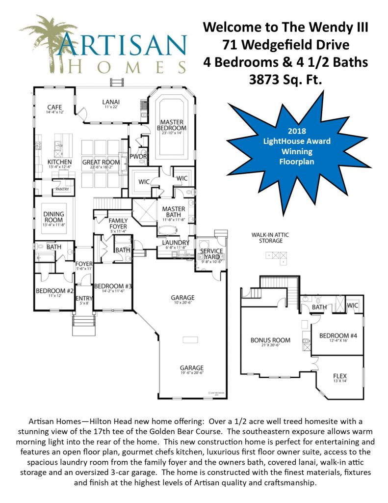 IR 59 (71 Wedgefield Drive) Floorplan
