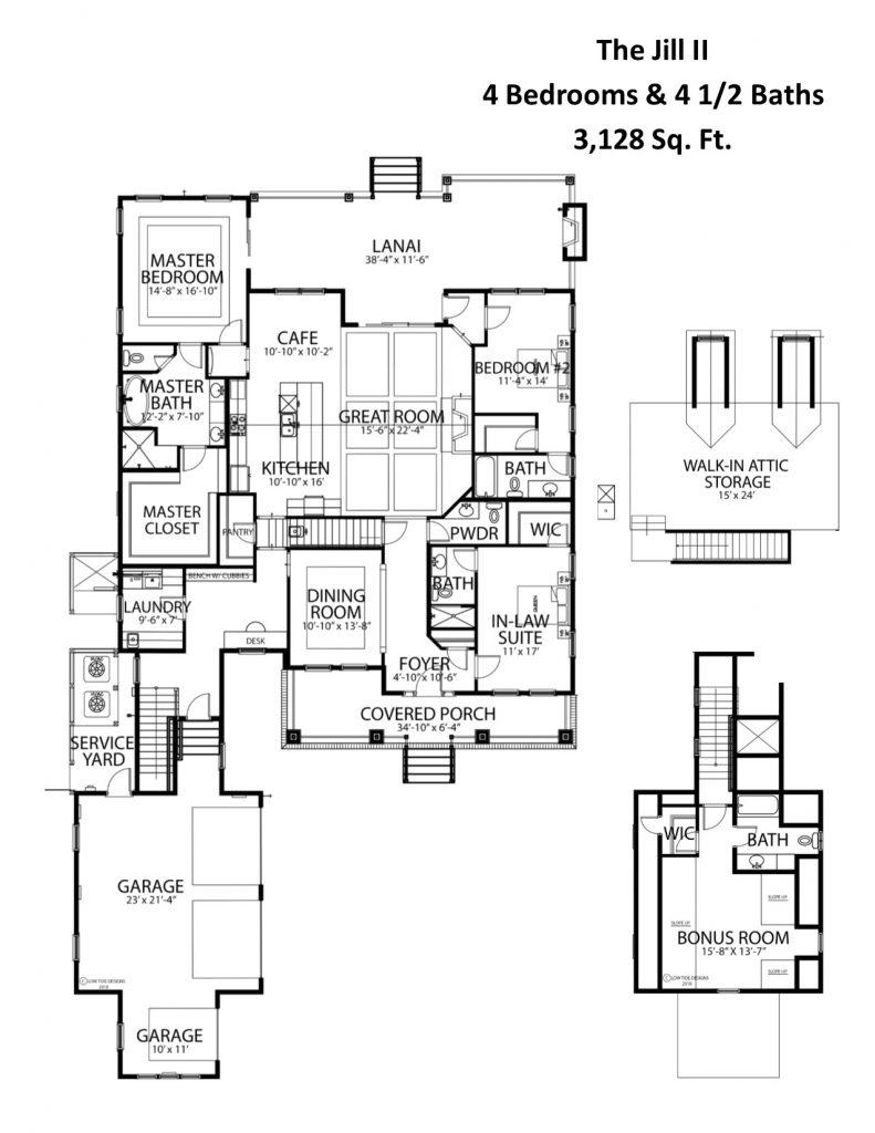 The Jill II Floorplan
